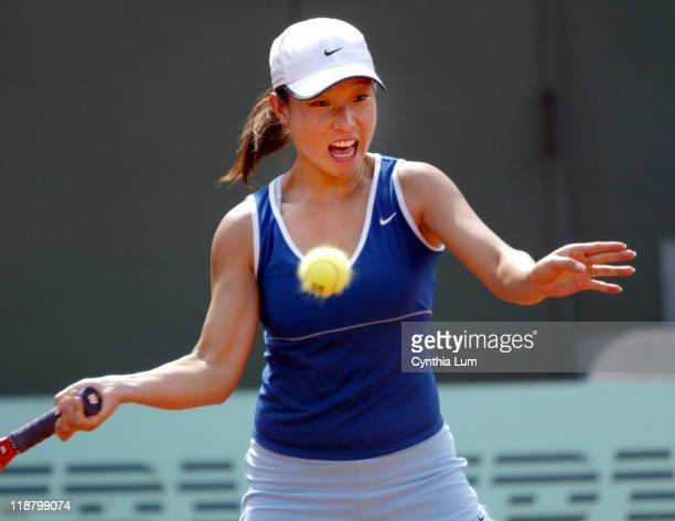 Jie Zheng takes out Tathiana Garbin with a 5-7, 7-6, 6-2 win in the third round in Paris.