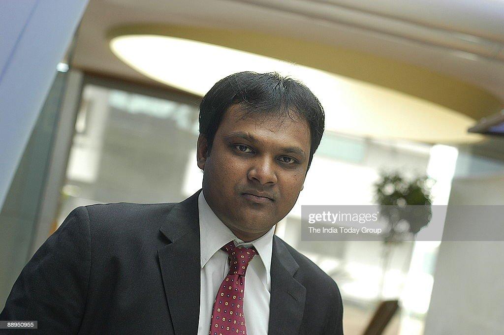 Jigar Shah, Director, KR Choksey Shares and Securities Private Ltd, Mumbai, Maharashtra, India : News Photo