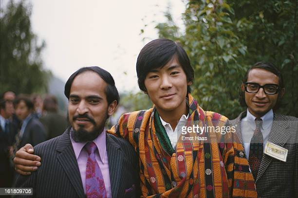 Jigme Singye Wangchuck King of Bhutan not long after his coronation Bhutan July 1974