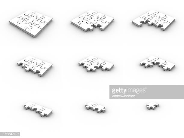 jigsaw puzzle assemble - johnson_(community),_wisconsin stock pictures, royalty-free photos & images