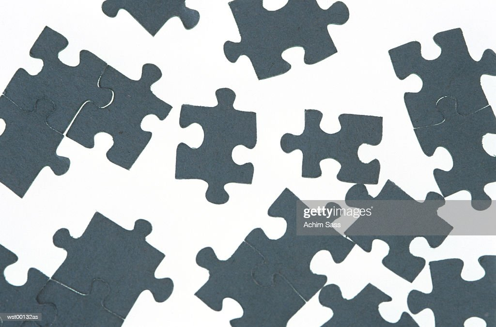 Jigsaw puzzle : Stock Photo