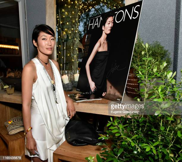 Jihae attends the Hamptons Magazine Celebrates Cover Star Jihae at Tutto il Giorno on July 31, 2019 in Sag Harbor, New York.