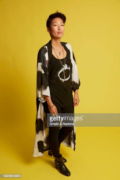 Jihae from National Geographic's 'When Earthlings Become Martians Mars Season 2' poses for a portrait at the Getty Images Portrait Studio powered by...