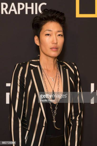 Jihae Kim attends National Geographic world premiere screening of One Strange Rock at Alice Tully Hall