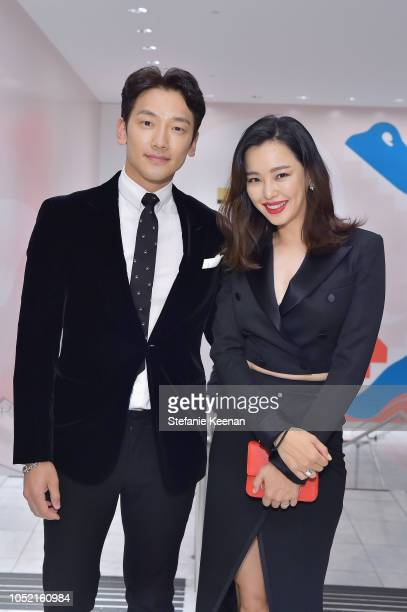 Jihoon Jung and Lee Hanee attend the Hammer Museum 16th Annual Gala in the Garden with generous support from South Coast Plaza at the Hammer Museum...