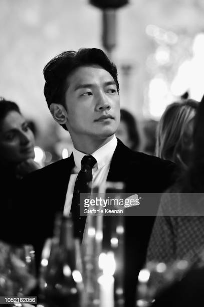 Jihoon Jung attends the Hammer Museum 16th Annual Gala in the Garden with generous support from South Coast Plaza at the Hammer Museum on October 14...