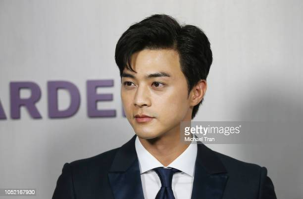 Jihun Kim attends the 2018 Hammer Museum Gala In The Garden held on October 14 2018 in Los Angeles California