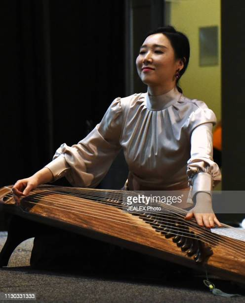 Jihye Lim of DUO BUD performs onstage at SXSW presents the International Day Stage during the 2019 SXSW Conference and Festivals at Austin Convention...