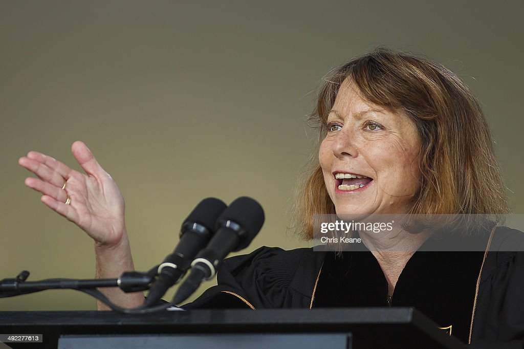 Former New York Times Executive Editor Jill Abramson Gives Commencement Address At Wake Forest University : News Photo