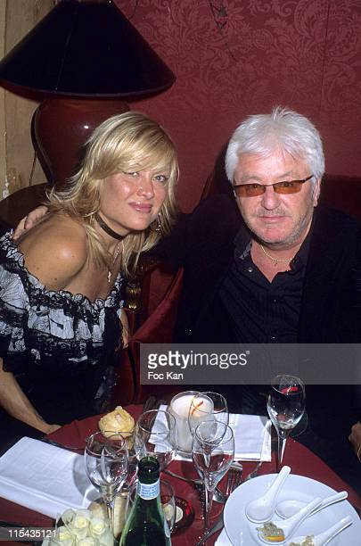 Jill and Marc Cerrone during ShangriLa Hotels A Paradise Foretaste Party April 27 2006 at Musee Baccarat in Paris France