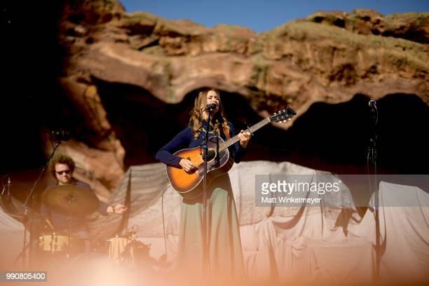 MORRISON CO JULY 1 Jill Andrews performs at Red Rocks Amphitheatre on July 1 2018 in Morrison Colorado