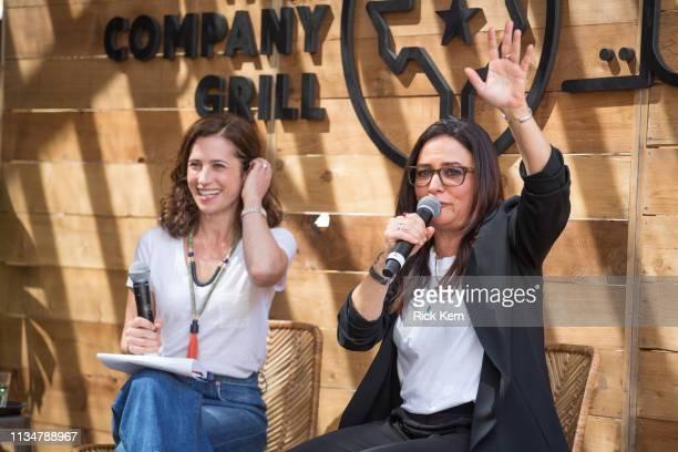 Jill Bernstein Editorial Director Fast Company and Pamela Adlon Executive Producer Writer Director and Actor attend the Fast Company Grill on March...