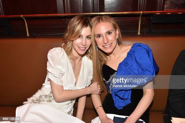 Jill Bikoff and Cori Galpern attend Julie Macklowe's 40th birthday Spectacular at La Goulue on December 19 2017 in New York City