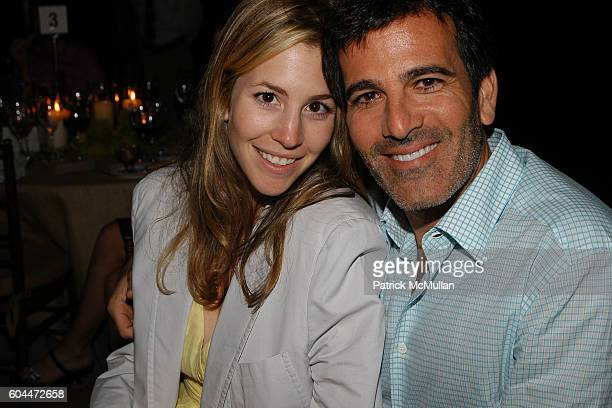 Jill Bikoff and Darius Bikoff attend Jane Goodall Reason for Hope Gala Dinner at East Hampton on August 12 2006