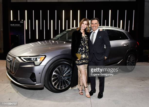 Jill Bikoff and Darius Bikoff attend the Whitney Museum Of American Art Gala + Studio Party at The Whitney Museum of American Art on April 09, 2019...