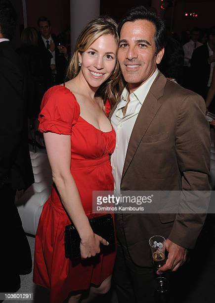 Jill Bikoff and Darius Bikoff of Vitamin Water attend the after party of 'Sex and the City The Movie' at the MoMa on May 27 2008 in New York City