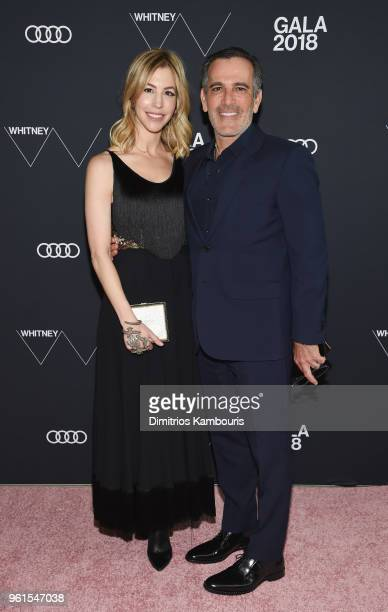 Jill Bikoff and J Darius Bikoff attend the 2018 Whitney Gala Sponsored By Audi on May 22 2018 at Whitney Museum of American Art in New York City