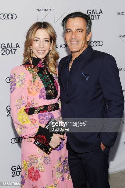 Jill Bikoff and Trustee of the Whitney Museum of Art J Darius Bikoff attend the Whitney Museum's annual Spring Gala and Studio Party 2017 sponsored...