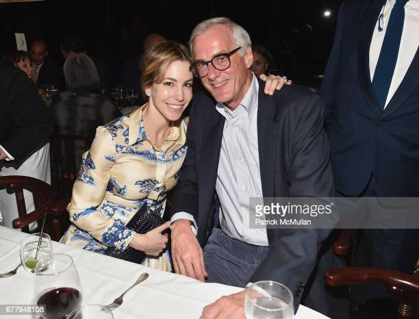 Jill Bikoff attends Galerie Gmurzynska TEFAF NY dinner in honor of Christo honoring Alexandre de Betak on May 2 2017 in New York City