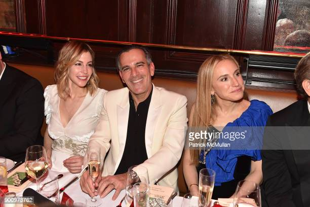 Jill Bikoff Darius Bikoff and Cori Galpern attend Julie Macklowe's 40th birthday Spectacular at La Goulue on December 19 2017 in New York City