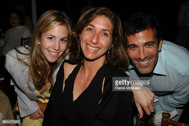 Jill Bikoff Susan Sakmar and Darius Bikoff attend Jane Goodall Reason for Hope Gala Dinner at East Hampton on August 12 2006