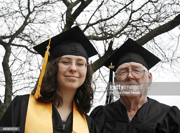 The youngest and oldest 2011 graduates from Southern Maine Community College are Rachel Champoux of Westbrook and Robert Witham of Portland...