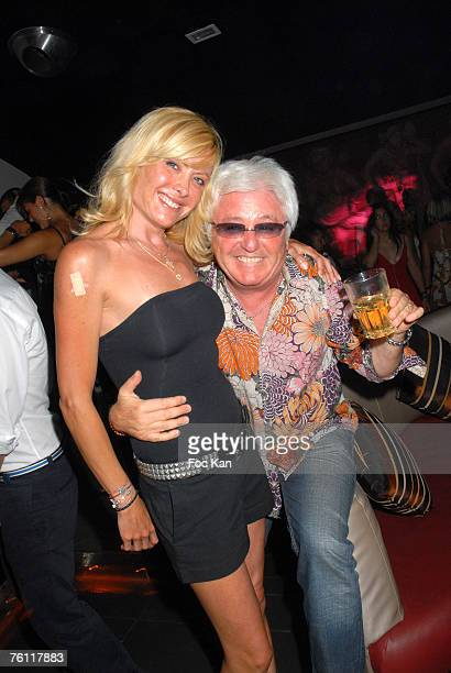 Jill Cerrone and Marc Cerrone attend The DJ Greg Cerrone St Tropez Party at the Papagayo's Club on August 12 2007 in St Tropez France