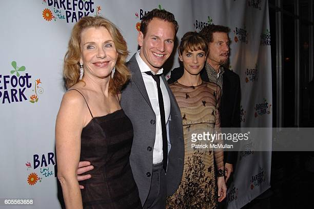 Jill Clayburgh Amanda Peet Patrick Wilson and Tony Roberts attend Afterparty for The Opening of 'Barefoot In The Park' Sponsored by Grey Goose Vodka...