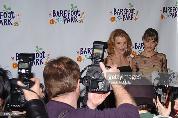 Jill Clayburgh and Amanda Peet attend Afterparty for The Opening of 'Barefoot In The Park' Sponsored by Grey Goose Vodka at The Central Park...