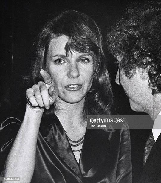Jill Clayburgh and Gene Wilder during 'Silver Streak' Premiere Party December 7 1976 at Tavern on the Green in New York City New York United States