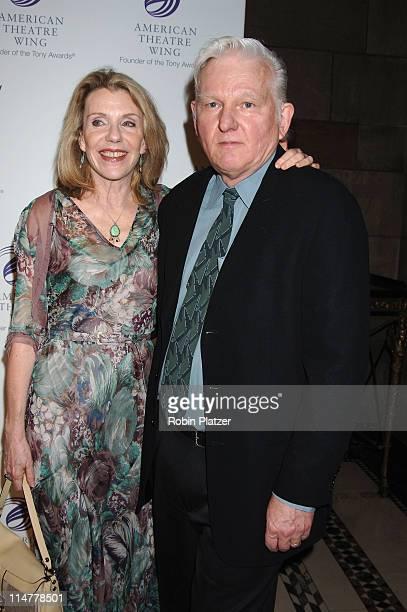 Jill Clayburgh and husband David Rabe during American Theatre Wing Spring Gala Honoring Matthew Broderick and Nathan Lane April 10 2006 at Ciprianis...