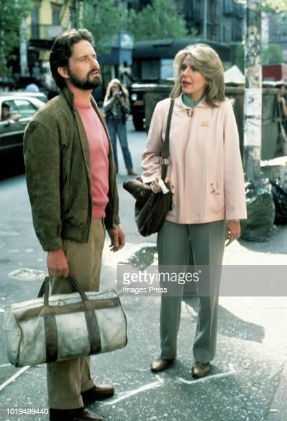 Jill Clayburgh and Michael Douglas circa 1980 in New York