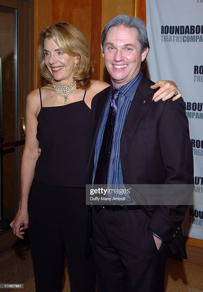 Jill Clayburgh and Richard Thomas during 'A Naked Girl on the Appian Way' Broadway Opening Night - Arrivals and After Party at American Airlines Theatre in New York City, New York, United States.
