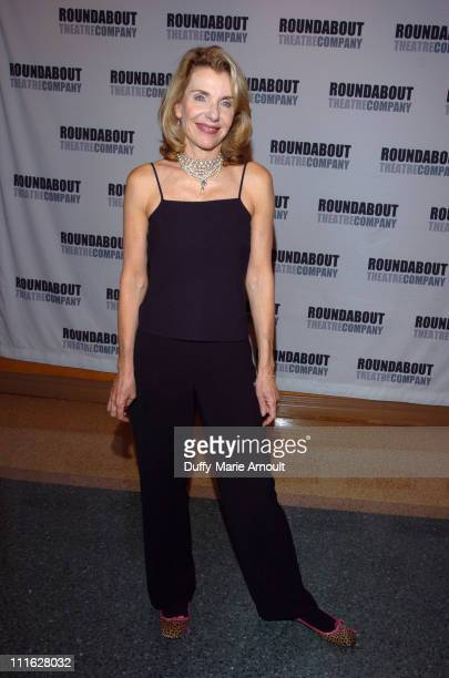 Jill Clayburgh during A Naked Girl on the Appian Way Broadway Opening Night Arrivals and After Party at American Airlines Theatre in New York City...