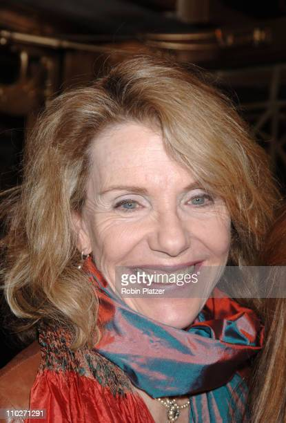 Jill Clayburgh during Festen Broadway Opening Night Curtain Call and Departures at The Music Box Theatre in New York New York United States