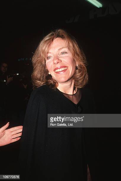 Jill Clayburgh during Jill Clayburgh sighting at the 57th Street Playhouse for the Premiere of Naked in New York April 11 1994 at 57th Street...