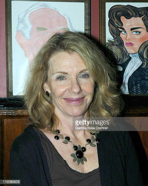 Jill Clayburgh during The Caine Mutiny Court Martial Opening Night After Party at Sardi's in New York City New York United States