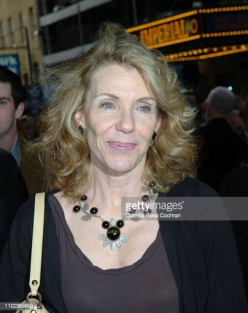 Jill Clayburgh during The Caine Mutiny CourtMartial Opening Night Arrivals at The Gerald Schoenfeld Theatre in New York City New York United States