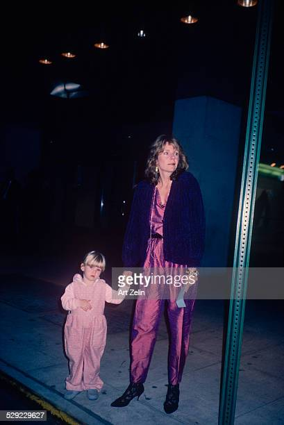 Jill Clayburgh with her daughter circa 1970 New York