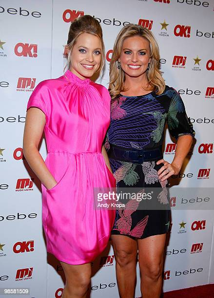Jill Dobson and Courtney Friel of Fox News attend OK Magazine�s 2010 Sexy Singles Event at Juliet Supper Club on April 20 2010 in New York City