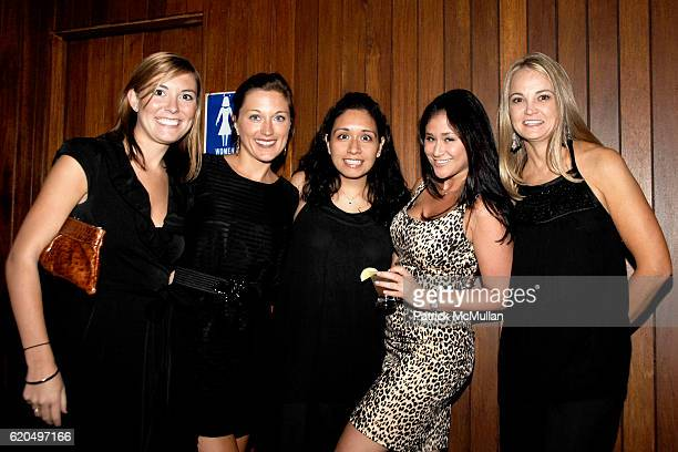 Jill Fleischer Annie Happel Vanessa Velazquez Andrea Offner and Lori Flynn attend EVERYDAY HEALTH 2nd Anniversary Party at Hudson Terrace on...