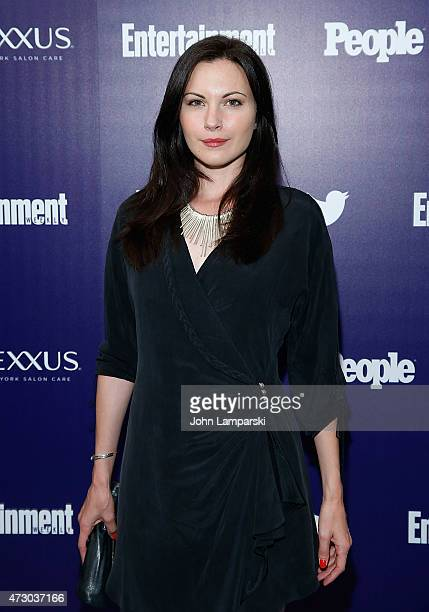 Jill Flint attends New York UpFronts party hosted by People and Entertainment Weekly at The Highline Hotel on May 11 2015 in New York City