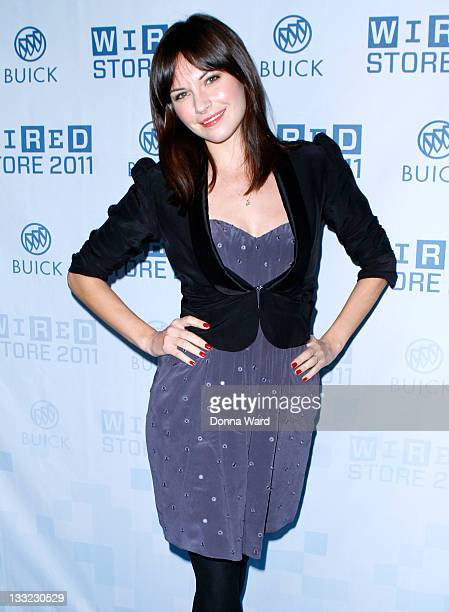Jill Flint attends the 2011 Wired Store opening night party on November 17 2011 in New York City