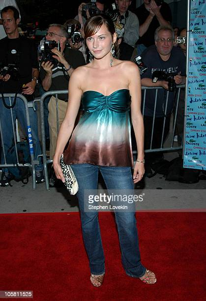 """Jill Flint during """"Garden State"""" New York Premiere - Outside Arrivals at Chelsea Clearview Cinemas in New York City, New York, United States."""