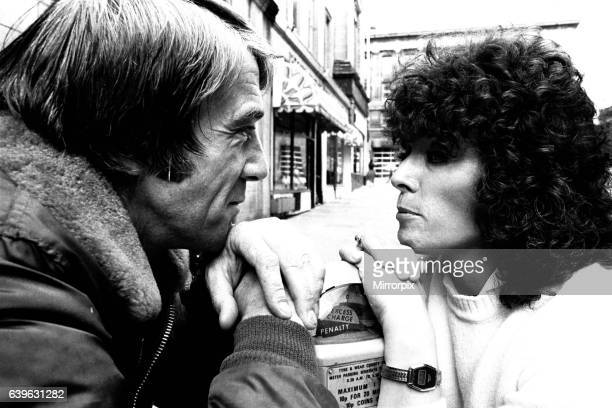 Jill Gascoigne and Bryan Marshall who are appearing in The Gentle Trap at the Theatre Royal Newcastle on 21st July 1981