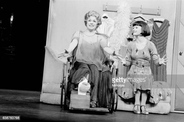 Jill Gascoine stars as Dorothy Brock in the West End musical 42nd Street which opened in April 1987 at The Theatre Royal Drury Lane in London Seen...