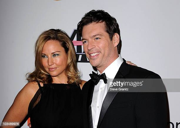 Jill Goodacre and actor Harry Connick Jr arrive at the 52nd Annual GRAMMY Awards Salute To Icons Honoring Doug Morris held at The Beverly Hilton...