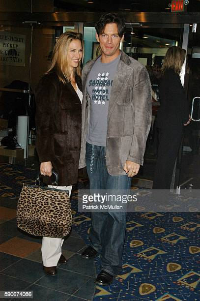 Jill Goodacre and Harry Connick Jr attend Showtime presents Fat Actress NY Screening and AfterParty Hosted by Kirstie Alley and Matt Blank at...