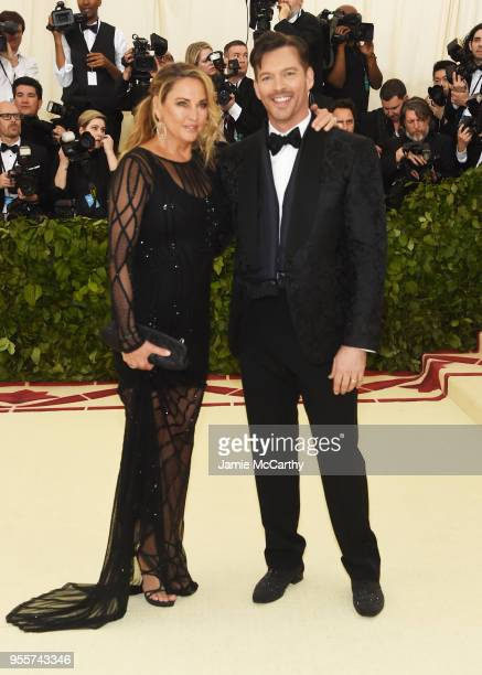 Jill Goodacre and Harry Connick Jr attend the Heavenly Bodies Fashion The Catholic Imagination Costume Institute Gala at The Metropolitan Museum of...