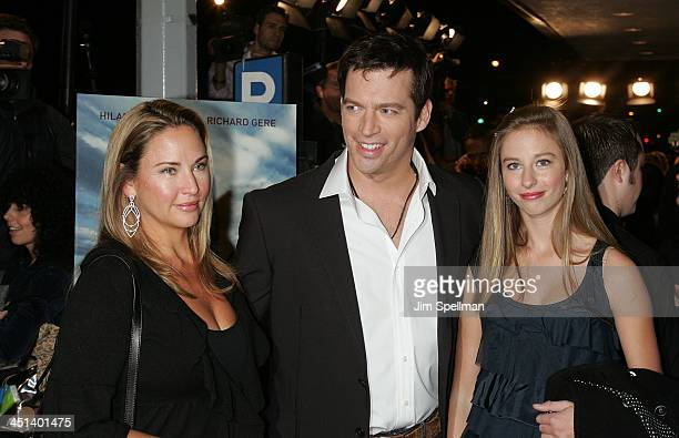 Jill Goodacre and Harry Connick Jr attend the premiere of Amelia at The Paris Theatre on October 20 2009 in New York City